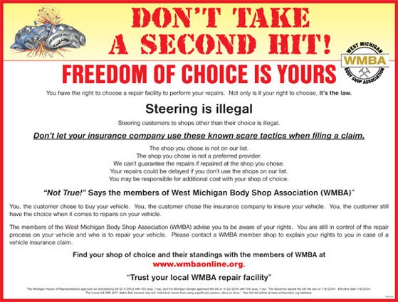 West Michigan Body Shop Association Members